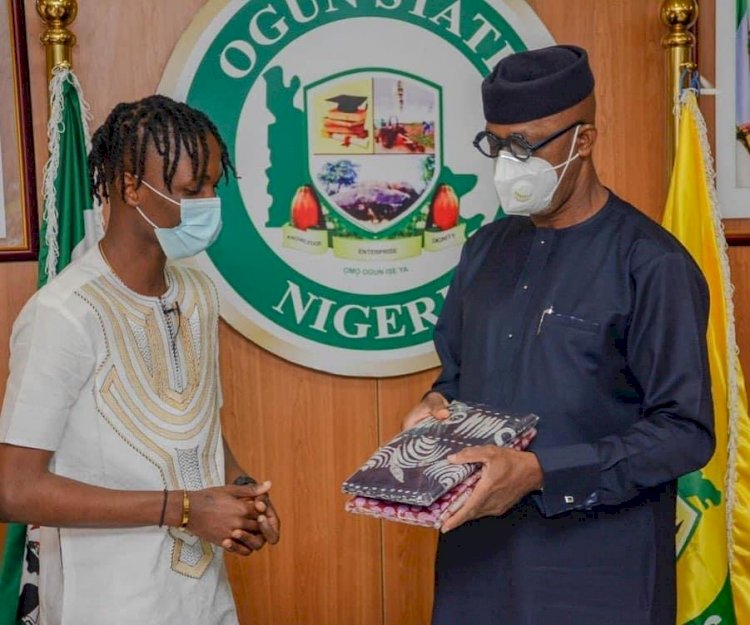 LAYCON BAGS YOUTH AMBASSADOR FOR OGUN STATE