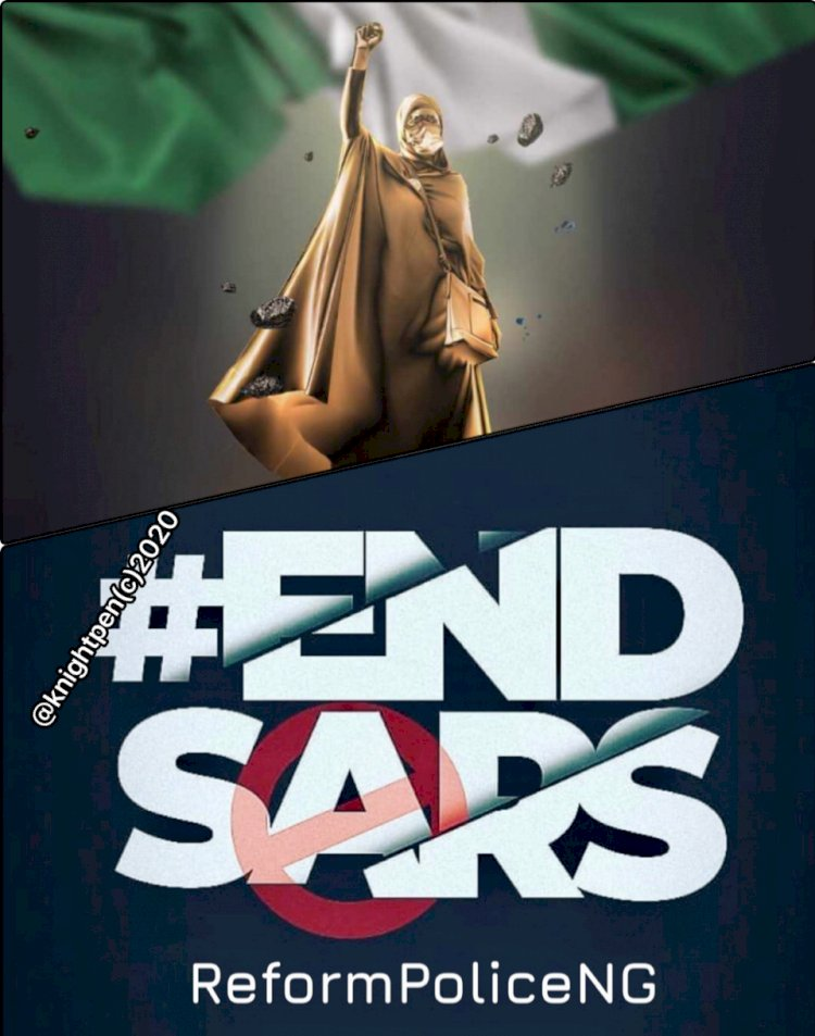 DO YOU KNOW A  REMEDY FOR #ENDSARS?