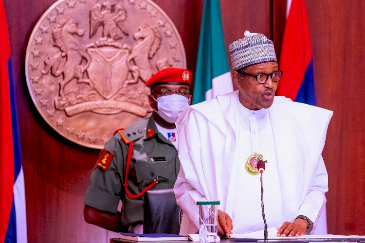 NIGERIAN REACTS AS PRESIDENT BUHARI FLAGS OFF YOUNG FARMERS SCHEME INSIDE STATE HOUSE