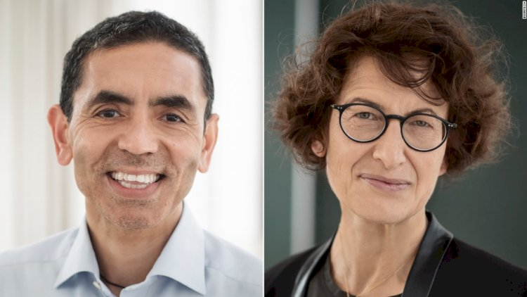 MEET THE POWER COUPLE BEHIND THE PFIZER/BIONTECH COVID-19 VACCINE