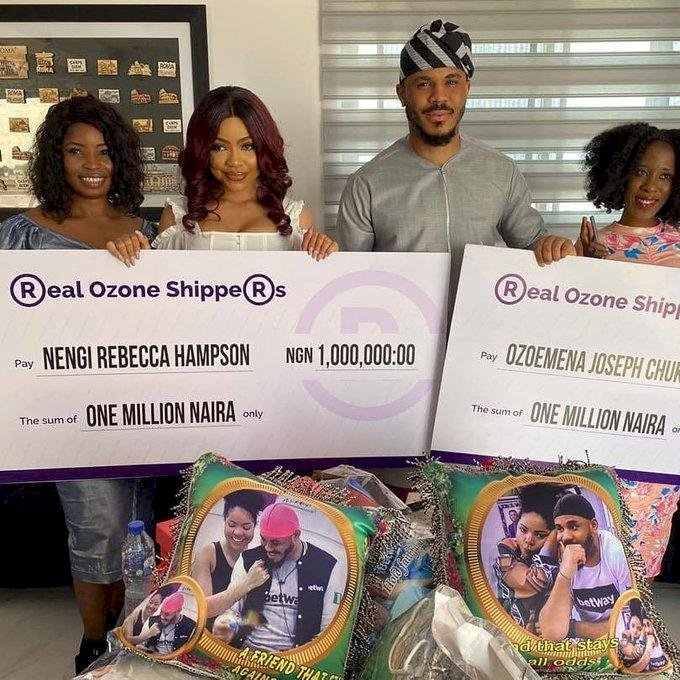 REACTIONS AS MASSES DONATE MILLIONS FOR BBN STAR OZO AND NENGI