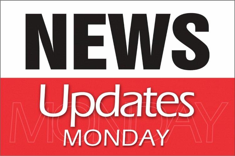 NEWS UPDATES MONDAY 11TH JANUARY 2021