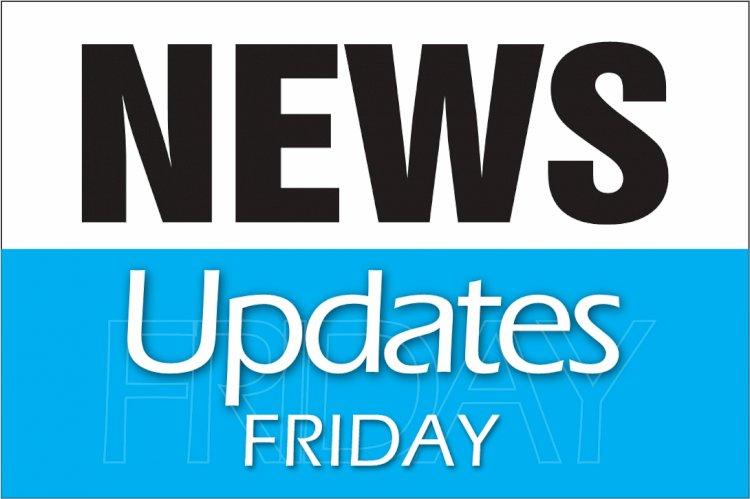 NEWS UPDATES FRIDAY 15TH JANUARY 2021