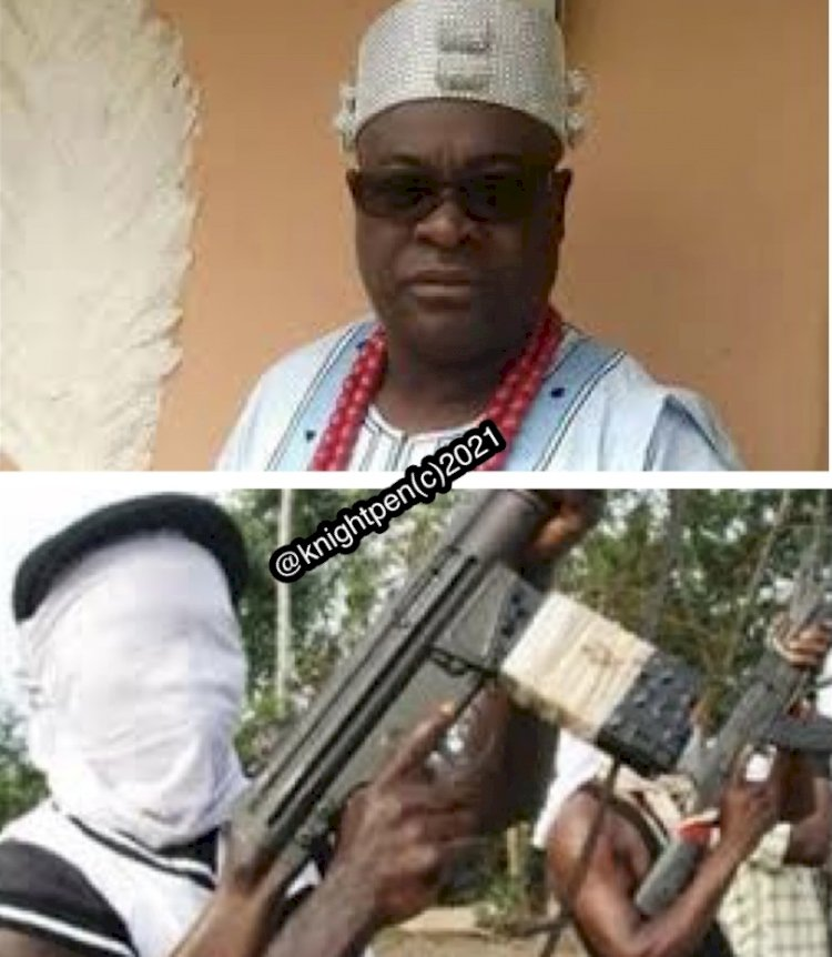 KIDNAPPERS DEMAND #20M RANSOM FOR EKITI MONARCH RELEASE