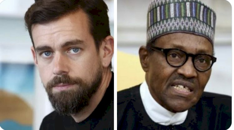 JACK TAKES ON BUHARI AS TWITTER PROMISES TO RESTORE IT OPERATIONS IN NIGERIA