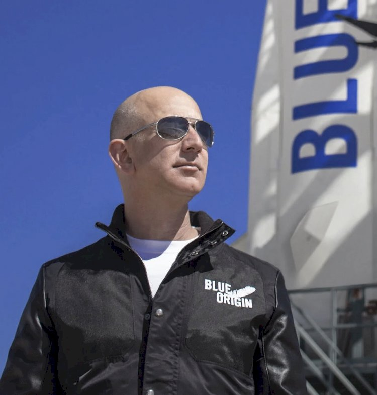WHY AUCTION WINNER WHO TRAVEL WITH JEFF BEZOS TO  SPACE IS NOT YET  REVEALED