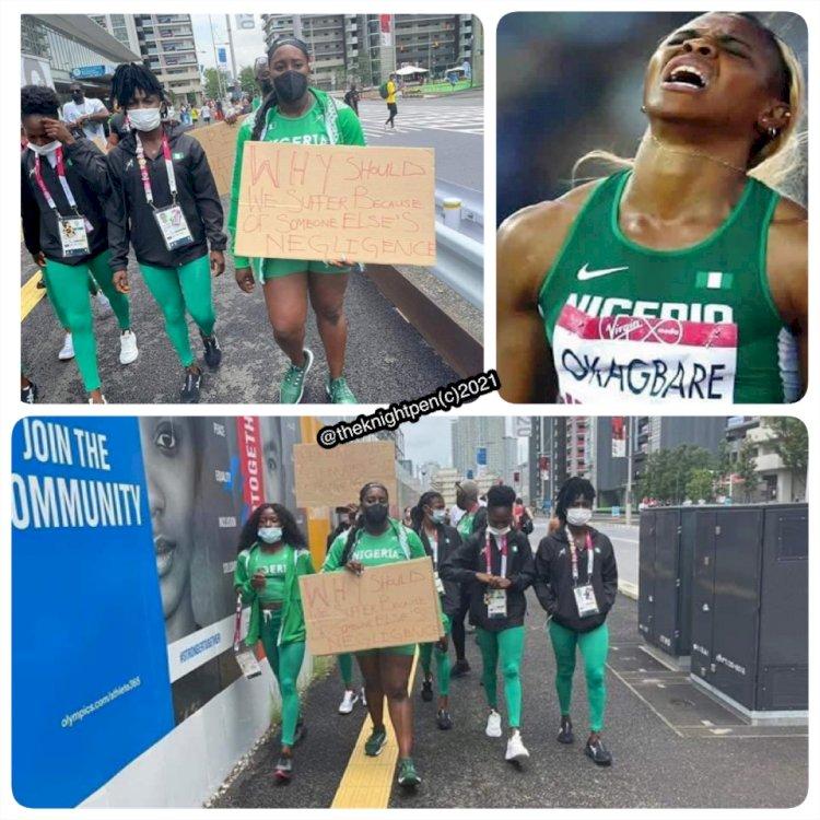 TOKYO 2020 OLYMPIC COMMITTEE HARSH ON NIGERIAN ATHLETES